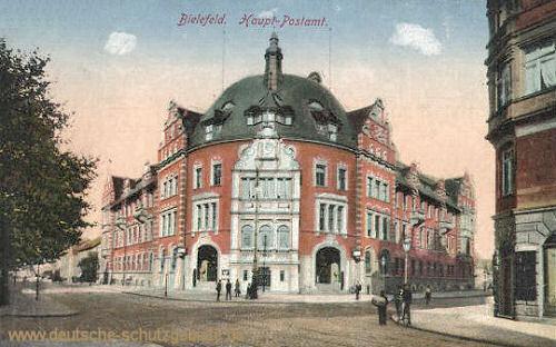 Bielefeld, Haupt-Postamt