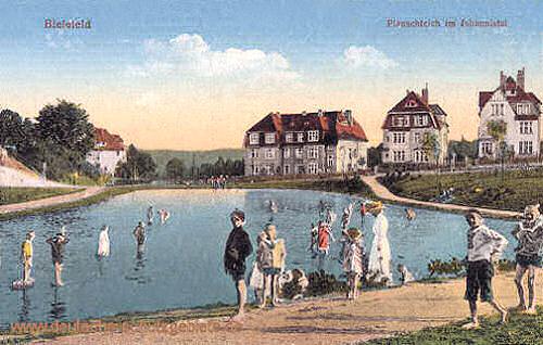 Bielefeld, Planschteich im Johannistal