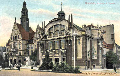 Bielefeld, Rathaus & Theater