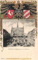 Bocholt, Marktplatz mit Rathaus