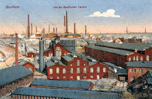 Bochum, Werke Bochumer Verein