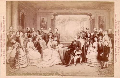 Die deutsche Kaiserfamilie 1878