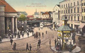Dortmund, Burgtor und Münsterstraße