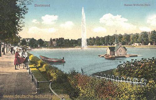 Dortmund, Kaiser Wilhelm-Hain
