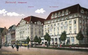 Dortmund, Königswall, Löwenhof, Fürstenhof