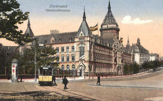Dortmund, Oberpostdirektion