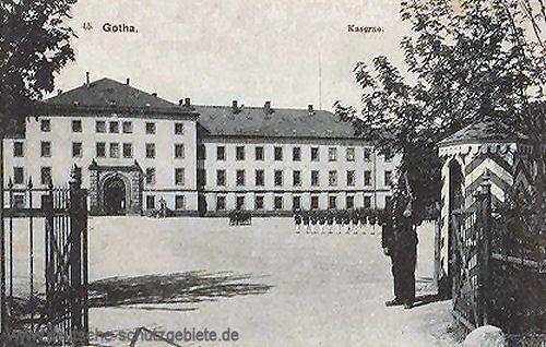 Gotha, Kaserne