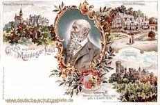 Herzogtum Sachsen-Meiningen, Herzog Georg II.