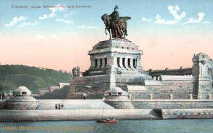 Koblenz, Kaiser Wilhelm Provinzial-Denkmal