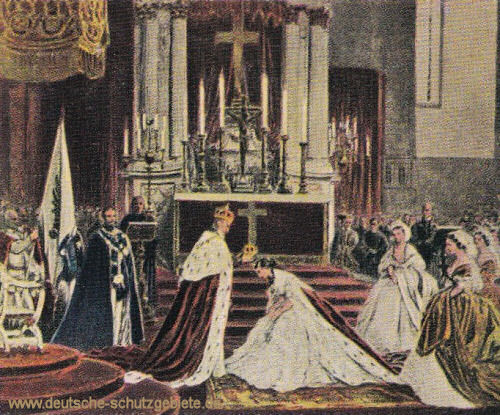Krönung König Wilhelms I. in Königsberg am 18. Oktober 1861