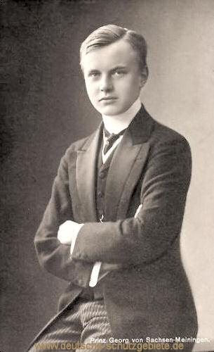 Prinz Georg von Sachsen-Meiningen