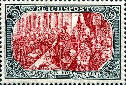 Reichspost 5 Mark