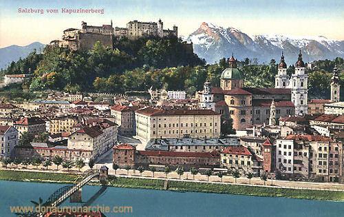 Salzburg vom Kapuzinerberg
