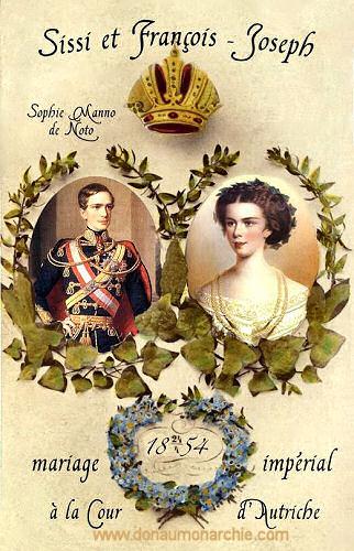 Sissi und Franz-Joseph, Hochzeit 1854
