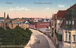 Solingen, Birkerstraße mit Badeanstalt