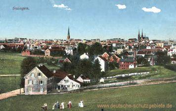 Solingen, Stadtansicht