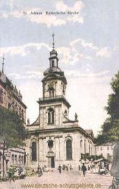 Sankt Johann a. d. Saar, Katholische Kirche