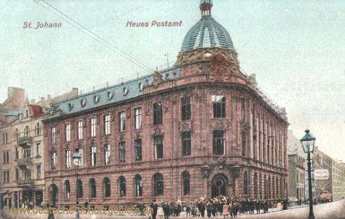 Sankt Johann a. d. Saar, Neues Postamt