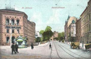 Sankt Johann a. d. Saar, Reichsstraße