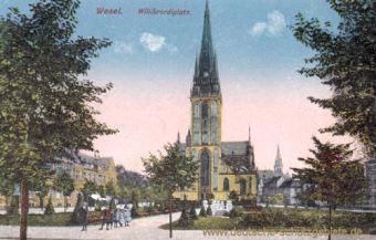 Wesel, Willibrordiplatz