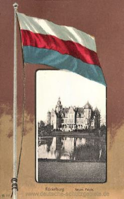 Bückeburg, Neues Palais, Landesflagge
