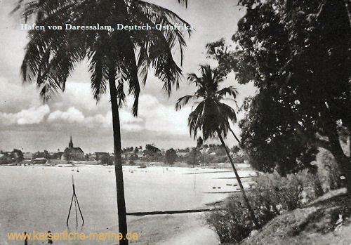 Hafen von Daressalam, Deutsch-Ostafrika