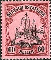 Deutsch-Ostafrika 60 Heller, 1905