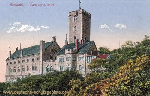Eisenach, Wartburg von, Osten