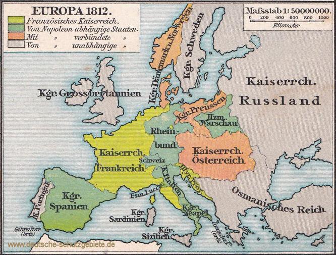 Europa 1812