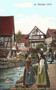 Im Thüringer Dorf