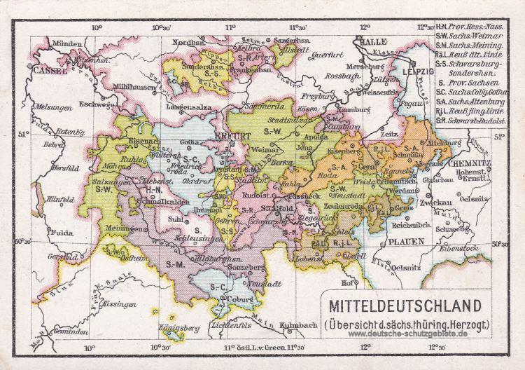 Thüringen 1900
