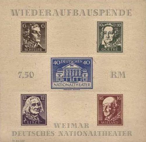 Thüringen Blockausgabe 1946