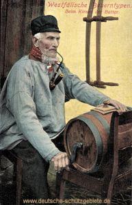 Westfälische Bauerntypen