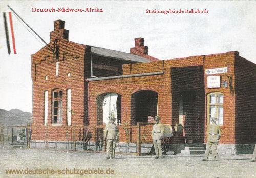 Deutsch-Südwest-Afrika, Stationsgebäude Rehoboth