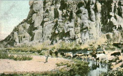 Deutsch-Südwest-Afrika, Wasserstelle Anicha (Vogelkranz)