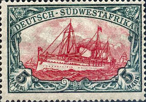 Deutsch-Südwestafrika 5 Mark, 1900