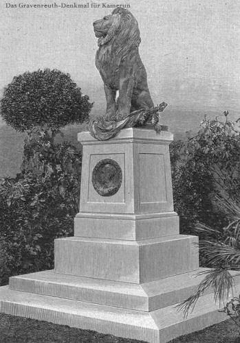 Gravenreuth-Denkmal für Kamerun