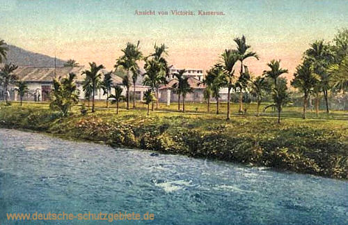 Kamerun, Ansicht von Victoria