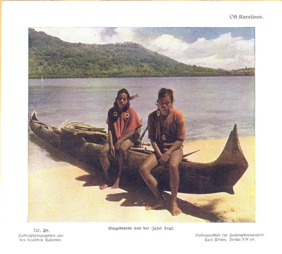 Nr. 38 Ost-Karolinen, Eingeborene von der Insel Truk