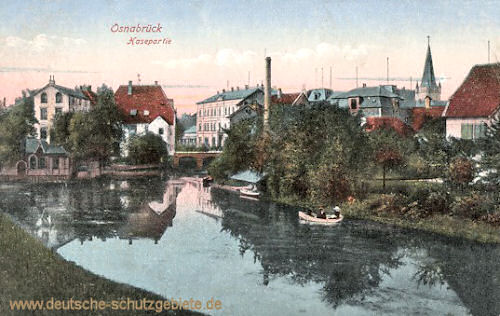 Osnabrück, Hasepartie