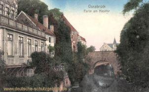 Osnabrück, Partie am Hasetor