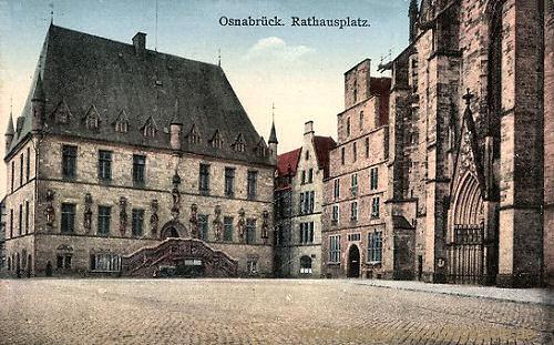 Osnabrück, Rathausplatz