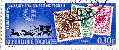 Republique Togolaise, Briefmarke 1962