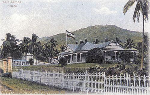Samoa, Apia, Hospital
