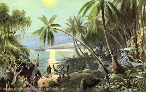 Samoa, Hafen von Apia