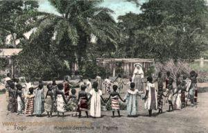 Togo, Kleinkinderschule in Palime
