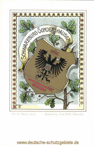 Fürstentum Schwarzburg-Sondershausen, Wappen