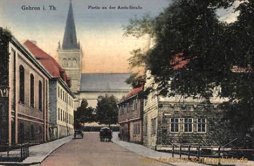 Gehren, Amtsstraße