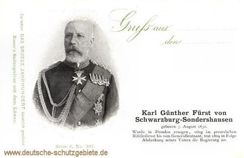 Karl Günther Fürst von Schwarzburg-Sondershausen