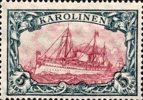 Karolinen, 5 Mark, 1900